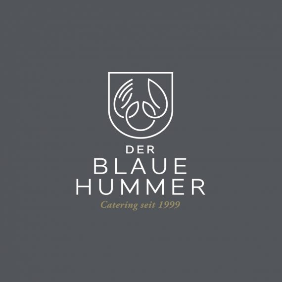 DER BLAUE HUMMER logo referenz von effektor Web Agentur Hamburg,