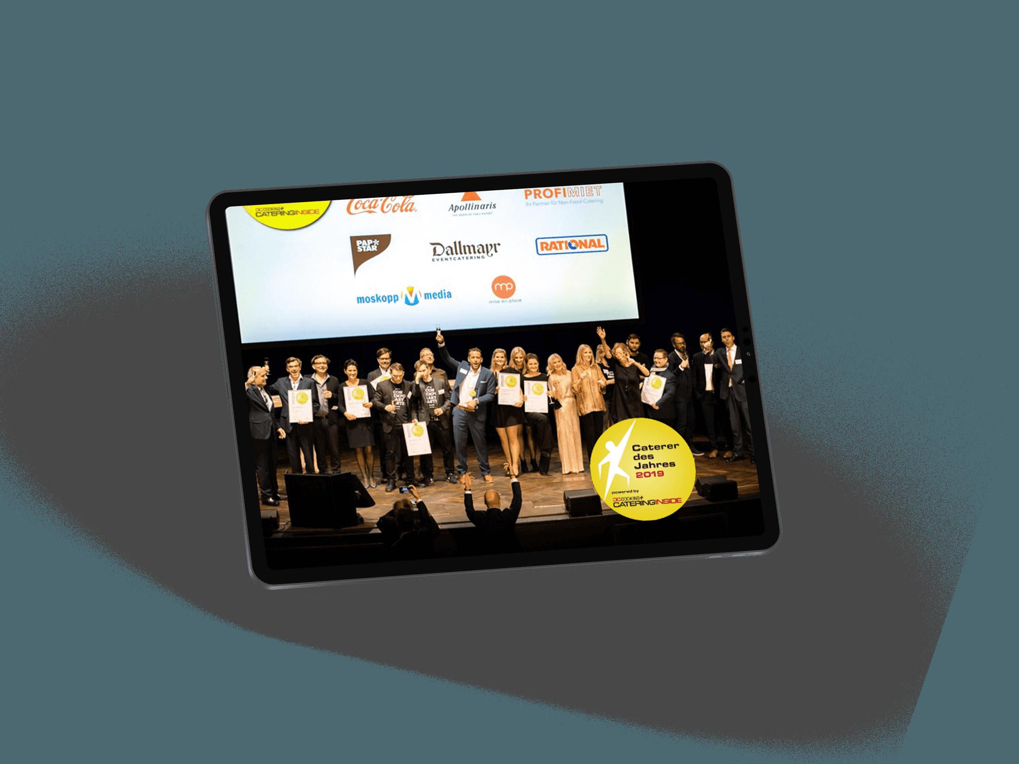 webdesign refeernz kochfabrik caterer des jahres