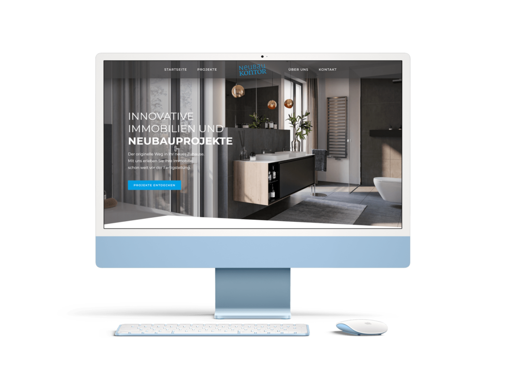 Webdesign Referenz Neubaukontor